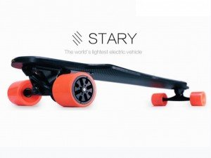 STARY BOARD「スターリー」 超軽量 電動スケートボード 3.9kg...