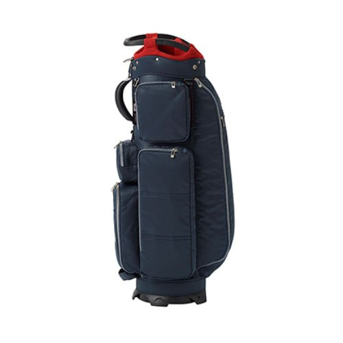 ONOFF(オノフ) キャディーバッグ onoff equipment キャディバッグ 9型 47インチ対応 軽量タイプ OB0418-04 ネイビー 重量:2.9kg 軽量タイプ