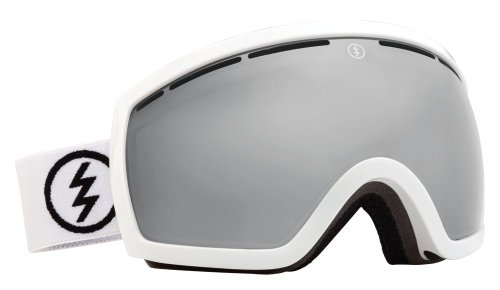 Electric EG2.5 Snow Goggle, Gloss White, Bronze/Silver Chrome by Electric California