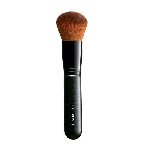 ETVOS(エトヴォス) フェイスカブキブラシ 毛先丸カット/柔らかいメイクブラシ 高級タクロン/化粧筆 12.5cm
