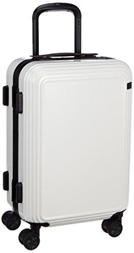 [エース] ace. スーツケース リップルF 32L 3.7kg 機内持込可 キャスターストッパー 05551 06 (ホワイト)