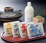 小堂食品 壽セット(汲みたま・木綿・堅豆腐・綿・豆乳) -クール-