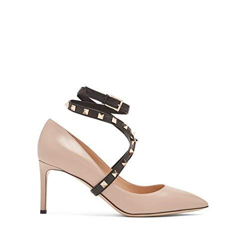 [ヴァレンティノ] レディース シューズ・靴 パンプス Studwrap leather pumps [並行輸入品]