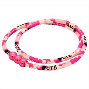 【エルグ(erg)】 ヴィラージュスポーツネックレス(VIRAGE Sports Necklace) (Mサイズ(約50cm), ヴィラージュ・ピンク【N25211】)
