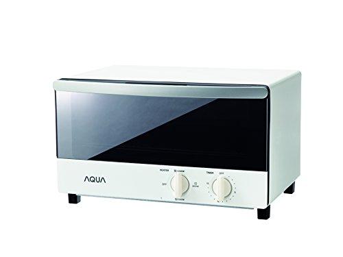 AQUA ヨコ型トースター シンプルデザイン AQT-WA1(W) AQT-WA1(W)