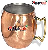 Copper Moscow Mule Mug Dutch Style Lacquered Finish by DakshCraft