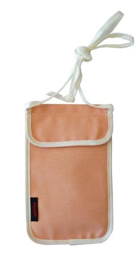 TRAVELGEAR スキミング防止ネックポーチ PI 袋1枚