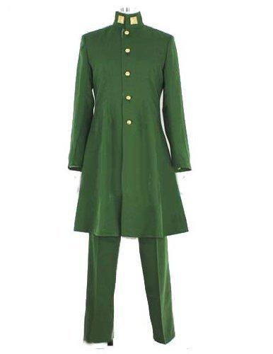 ジョジョの奇妙な冒険 花京院典明 コスプレ衣装 コスチューム ハロウィン クリスマス COSPLAY (男性XL)