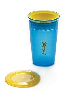ワオカップ こぼれないコップ フタをしたまま飲める