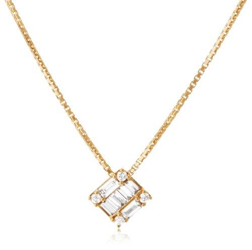 [ベルシオラ] BELLESIORA K18YGダイヤモンドネックレス 4007431614803999