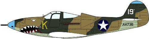 1/48 P-400 エアラコブラ シャークティース