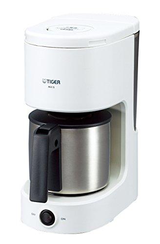 タイガー コーヒーメーカー 6杯用 ステンレス サーバー ホワイト ACC-S060-W Tiger...