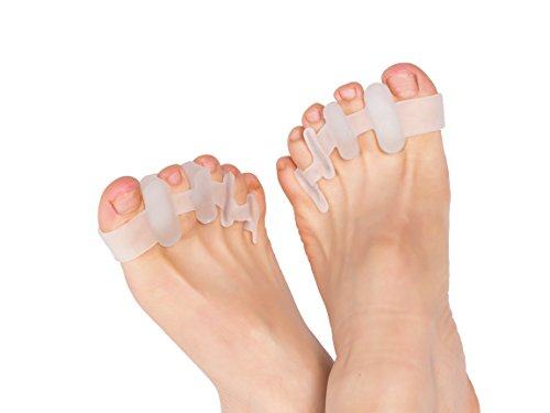 【4 個入】足指矯正パッド 外反母趾用 外反母趾 サポーター シリコン フットケア 矯正装具 矯正ベルト 足曲がり 足の痛み サポート ワンーサイズ 透明色 男/女性適用