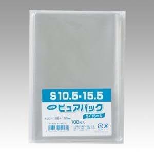 OPP袋 ピュアパック S10.5-15.5(はがき用) 100枚