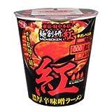 サンヨー食品 サッポロ一番 麺創研 紅 濃厚辛味噌ラーメン 100g×12個入