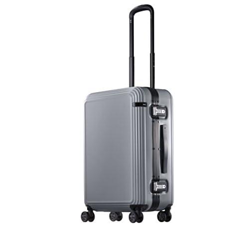 [エース] ace. スーツケース リップルF 49L 4.4kg 05552 09 (シルバー)