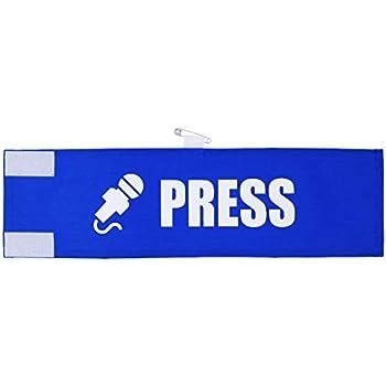 【Amazon限定】PRESS 腕章専門.com 腕章 ビックシルエット 冠婚葬祭 取材 記者会見 報道 マスコミ 新聞 テレビ イベント等で役立つ