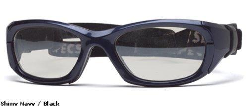 Rec Specs保護用スポーツeyewear- Maxx 31–Shiny Navyブルー/クリア
