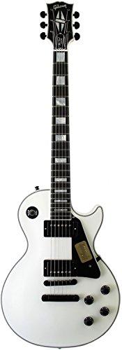 Gibson CUSTOM SHOP Limited Run Les Paul Custom Alpine White w/ABR-1, Black Top Hat Knob