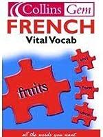 French Vital Vocabulary (Collins Gem)