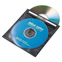 【まとめ 3セット】 サンワサプライ DVD・CD不織布ケース(ブラック) FCD-FN100BKN