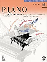 Faber Piano Adventures: Level 2B - Popular Repertoire Book / ファーバー・ピアノ・アドベンチャー: レベル2B - 人気レパートリー・ブック楽譜