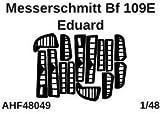 エアワンホビー 1/48 メッサーシュミットBf109E コントロールサーフェイス 塗装マスクシール (エデュアルド用) プラモデル用マスキングシール AOHF48049