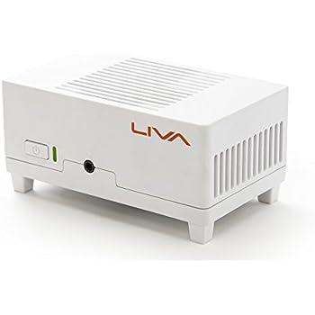 液晶テレビに接続するためのHDMIケーブルが付属 ECS Windows10を搭載した完全無音の超小型デスクトップパソコン LIVA TV SET (Windows10)