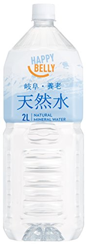 [2CS] Happy Belly 岐阜・養老 天然水 (2L×6本) ×2箱をアマゾンで購入