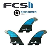 【FCS2 フィン】 FCS2 PERFORMER PC CARBON TRI FIN M FCS II エフシーエス サーフィン フィン