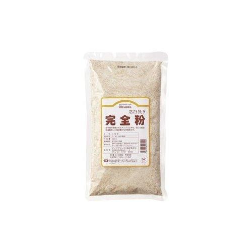 オーサワジャパン 石臼挽き完全粉 500g