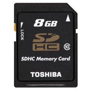 東芝 SDHCメモリカード 8GB Class10 SD-GX008G
