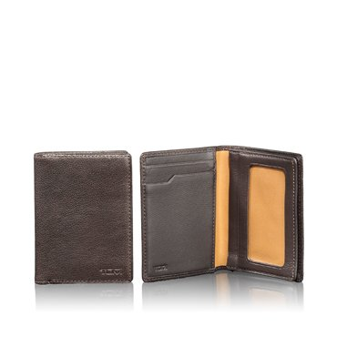 TUMI トゥミ ツミ SIERRA ガセット・カードケース・ウィズ・ID 016656B ブラウン GUSSETED CARD CASEメンズ 並行輸入 正規品