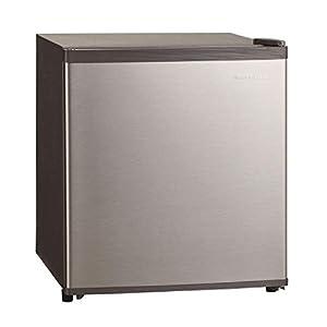 三ツ星貿易 スキャンクール 家庭用 小型冷蔵庫 47L シルバーグレー SKM45