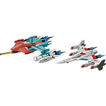 figma ギャラクシアン/ギャラガ Galaxian Galaxip GFX-D001a / Galaga Fighter GFX-D002f ノンスケール ABS製 塗装済み可動フィギュア