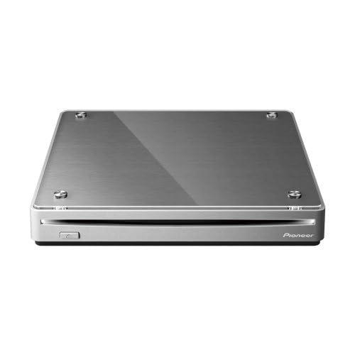 パイオニア USB3.0対応 BDXL対応 着せ替え可能 スロットイン型ポータブルブルーレイドライブ メタリックシルバー BDR-XS05J