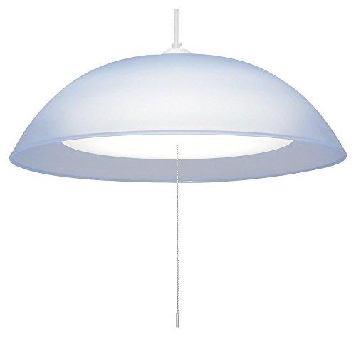 アイリスオーヤマ LEDペンダントライト 8畳 調光2段階+常夜灯 3500ルーメン カバー色ブルー PL8N1-E-A
