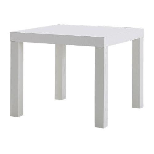 LACK サイドテーブル, ホワイト, 55x55 cm