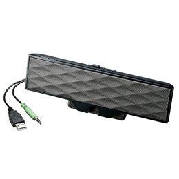 サンワサプライ USB電源サウンドバースピーカー MM-SPL11UBK 家電 オーディオ関連 スピーカー [並行輸入品]