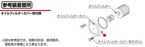 キタコ(KITACO) Oリング(OS-04) ST250/グラストラッカー/イントルーダー250等 1個入り 70-967-32040