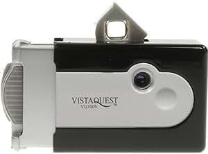 VQ1005 黒 VISTA QUEST 2008年モデル デジタルトイカメラ 日本語説明書付