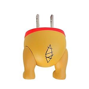 ディズニー キャラクター 1ポート USB充電器 AC充電器 ACアダプタ USB 1A/プー/おしり