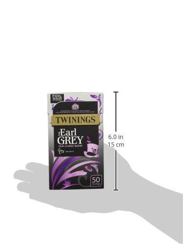 トワイニング イギリスブレンド(英国国内専用品) アールグレイ ティーバック 50p入り(茶葉125g相当) 黒紙箱入 x 2