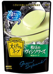 HEINZ ハインツ 大人むけのスープ 冷たい枝豆のヴィシソワーズ 160g...