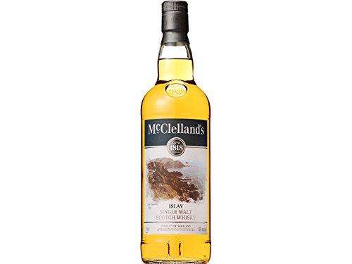 シングルモルトウイスキー マクレランズ アイラ [ ウイスキー イギリス 750ml ]