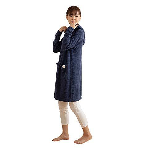 mofua(モフア) 着る毛布 ネイビー Lサイズ ふんわり...
