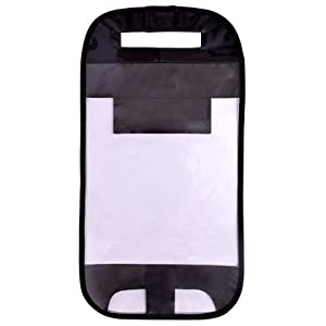ランドセルカバー 透明・クリアブラック(透明ビニール×黒) N4150200