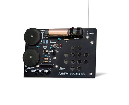 創立25周年記念パッケージ ELEKIT(エレキット) AM/FM DSP ラジオ TK-739D