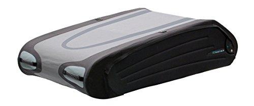 Terzo ルーフボックス 570L バミューダフレックス ブラック×グレー 両開き 折り畳みタイプ イージークランプ取付 EA570BFX