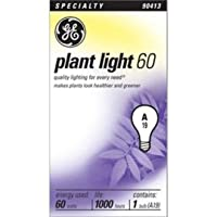 GE Lighting 41624 60/A/PL 60W Plant Light Bulb by GE Lighting